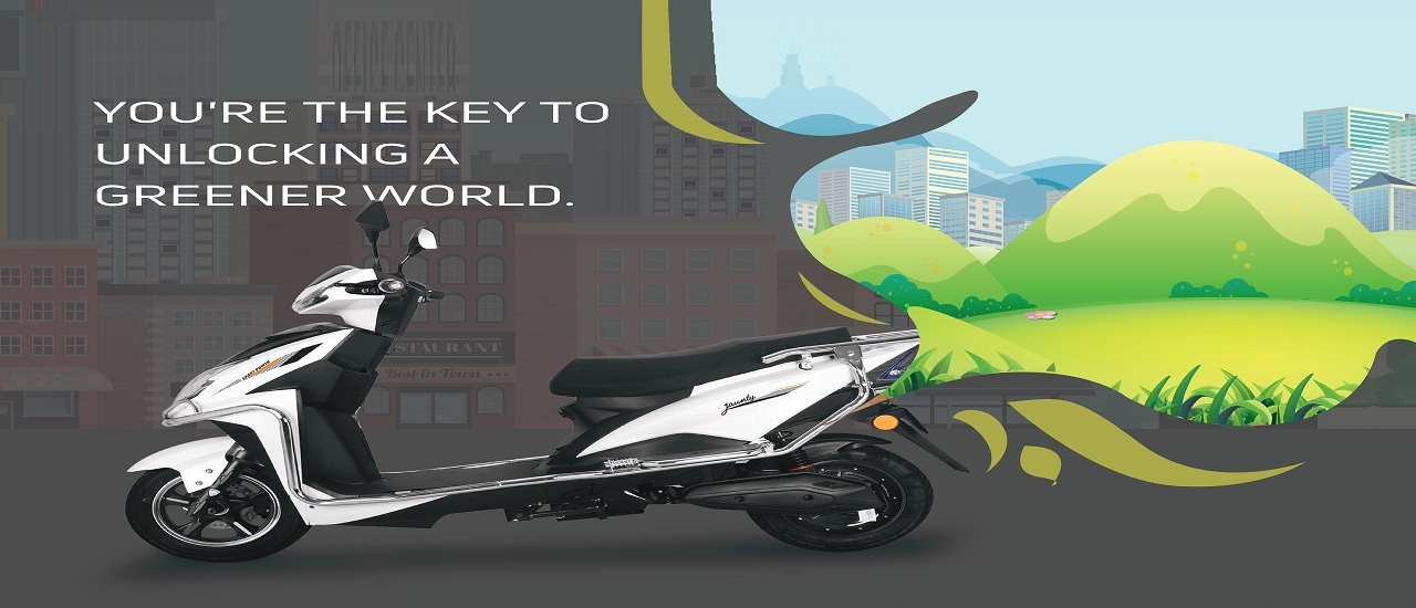 How is the battery life of AMO Jaunty Electric Scooter?