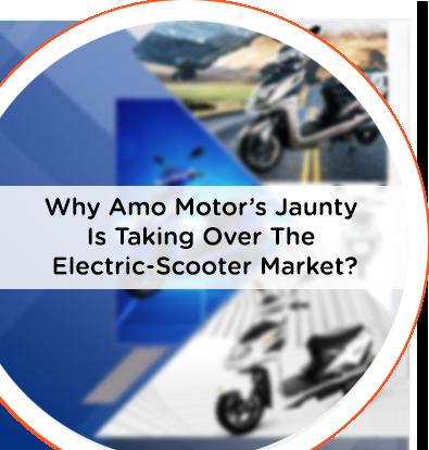 Jaunty Best electric scooty